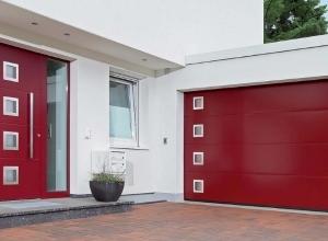 Дизайнерские гаражные ворота Hormann мотив 461 2500 х 2250