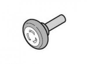 Ходовой ролик, нижний с осью 50 мм, для направляющих N, L, BL, H Hormann (3040311)