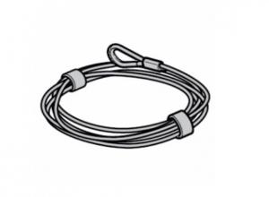 Проволочный трос, Ø 5,5 мм, для барабанов для троса, Размер 2, 3, 4, 5, 7, 8 Hormann
