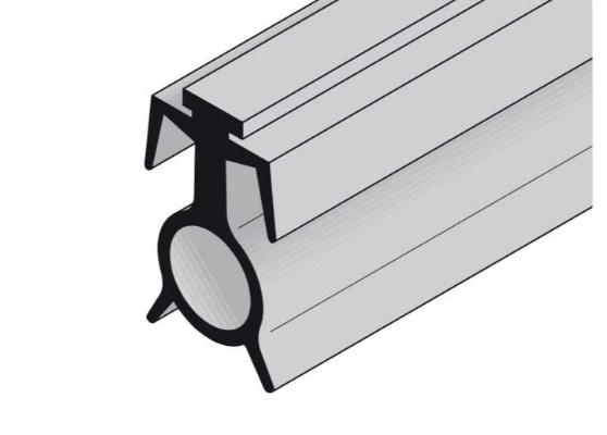 Напольное уплотнение с вентиляционными прорезями Hormann (3040107)