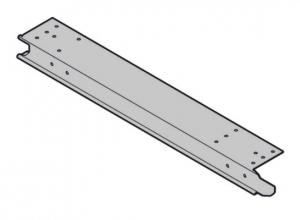 Торцевая накладка для установленной заподлицо фальш-панели, тип BF слева Hormann (4004943)