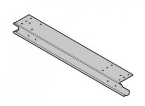 Торцевая накладка для секции ворот Hormann слева (3047287)