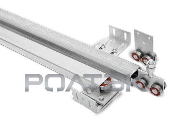 Комплект для подвесных ворот Ролтэк Лайт (RC35 до 200 кг, до 4 м)