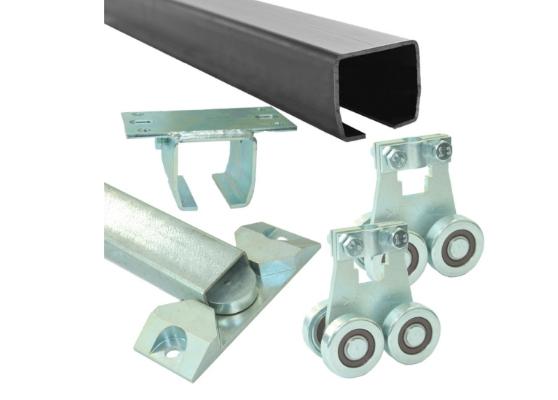 Комплект для подвесных ворот Ролтэк Микро (RC55 до 400 кг, до 4 м)