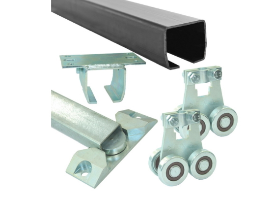 Комплект для подвесных ворот Ролтэк Микро (RC55 до 400 кг, до 6 м)