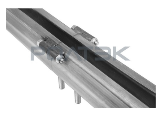 Комплект для подвесных ворот Ролтэк Евро  (RC74 до 1200 кг, до 3 м)