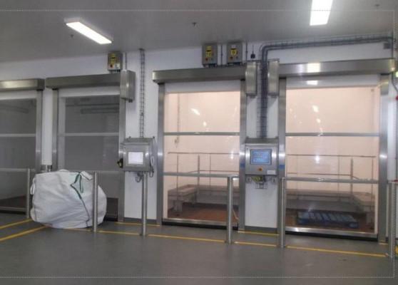 Гибкие скоростные ворота Hormann V 3015 Clean