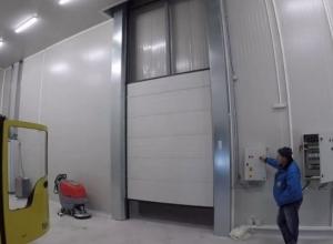 Скоростные ворота для холодильных камер Hormann Iso Speed Cold V100 2000 х 2000