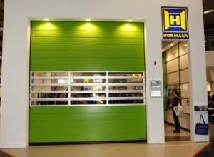 Скоростные спиральные ворота Hormann Speed HS 6015 PU V 42 2000 х 2000