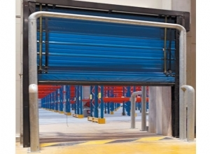 Скоростные гибкие  ворота для холодильных помещений Hormann F 4010 Cold (Mavicold)
