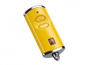 Пульт для автоматики Hormann HSE 2 BS (желтый)