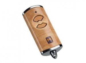 Пульт для автоматики Hormann HSE 2 BS (древесина, светлый тон)