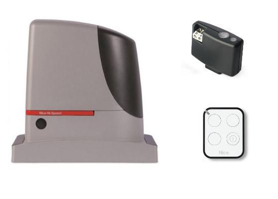 Автоматика для откатных ворот Nice RUN1200HSBDKIT1 (комплект)