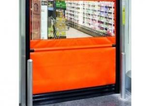 Cкоростные рулонные ворота Hormann V3010 со встроенным блоком управления