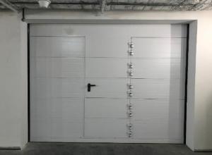 Секционные противопожарные ворота МВА EI 60