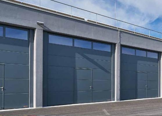 Промышленные секционные ворота SPU F 42/SPU 67 Thermo