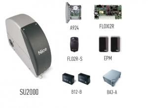 Автоматика для промышленных секционных ворот NICE SUMOKIT2 (комплект)