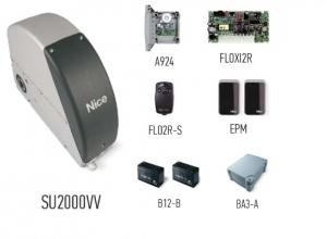 Автоматика для промышленных секционных ворот NICE SUMOVVKIT2 (комплект)