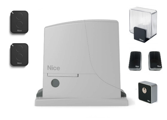 Автоматика откатных ворот Nice ROX600KCE (комплект)
