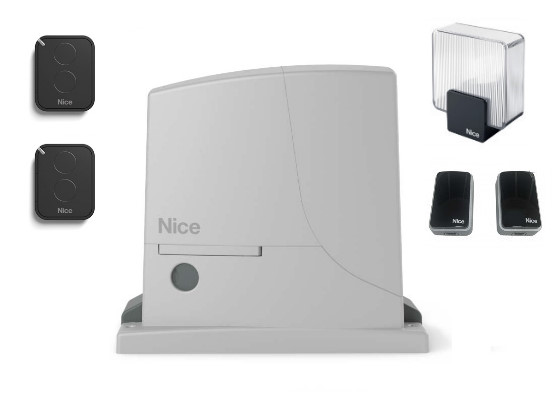 Автоматика для откатных ворот Nice ROX 1000 KIT 2 (комплект)