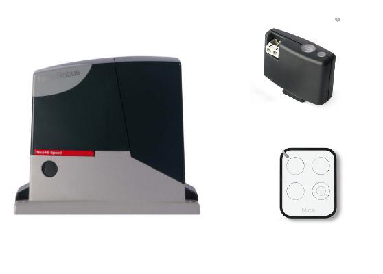 Автоматика для откатных ворот Nice RB250HSBDKIT1 (комплект)