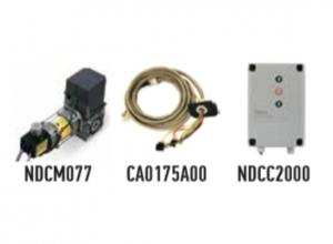 Автоматика для промышленных секционных ворот NICE SD12020400KEKIT (комплект)