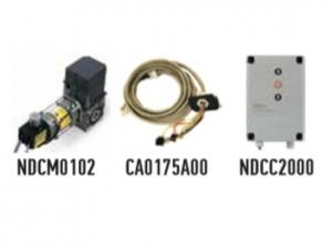 Автоматика для промышленных секционных ворот NICE SD14020400KEKIT (комплект)