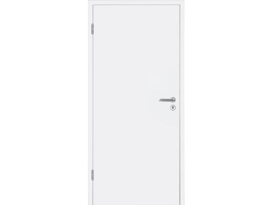 Межкомнатная дверь BaseLine, белый RAL 9016