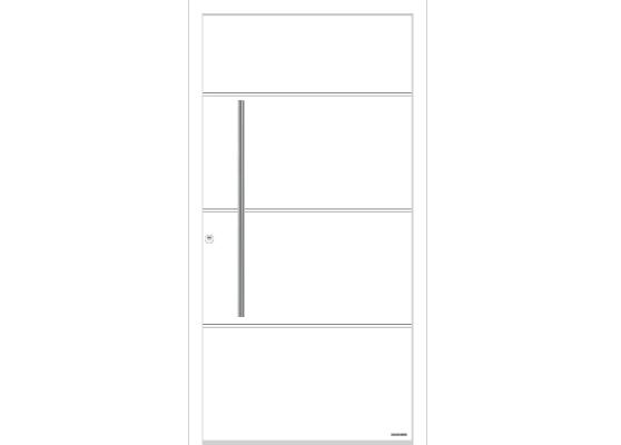 Входная дверь Hormann ThermoSafe Мотив 895