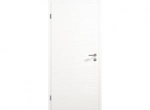 Межкомнатная дверь ConceptLine Duradecor, рифленая, белый RAL 9016