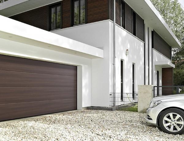Секционные гаражные ворота Hormann LPU 42