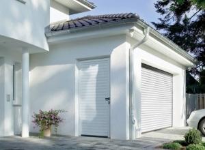 Гаражная боковая дверь Hormann NT 60 S гофр 875 х 2000